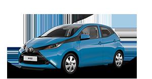 Toyota AYGO - Concessionario Toyota a Viterbo Viale Diaz